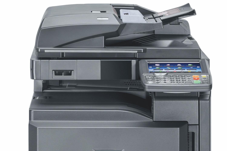 Velocità da 30 a 55 pag/min, grammature fino a 300gr, ampio display touch, robusto e affidabile.